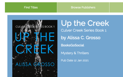 Publishing a Book Series Week 10: Netgalley, More Edits and Google Alerts